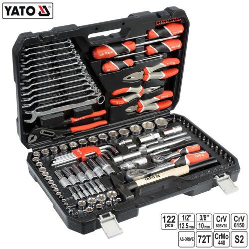 Trousse à outils 122 Pcs Boîte à Outils Outil Set Boîte à outils Boîte à outils Box