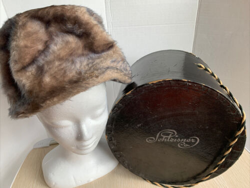 Vintage Miss Dior By Christian Dior Hat With Hat B