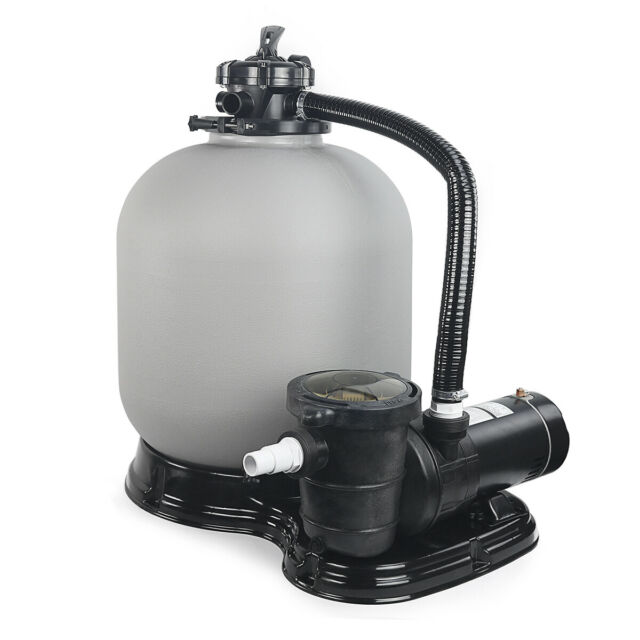 Best Choice Products 4500GPH Above Ground Swimming Pool Pump Sand Filter  System