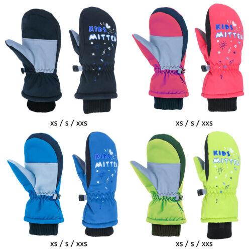 Winter Ski Handschuhe Kinder Jungen Mädchen Schnee Fäustlinge Wasserdichte