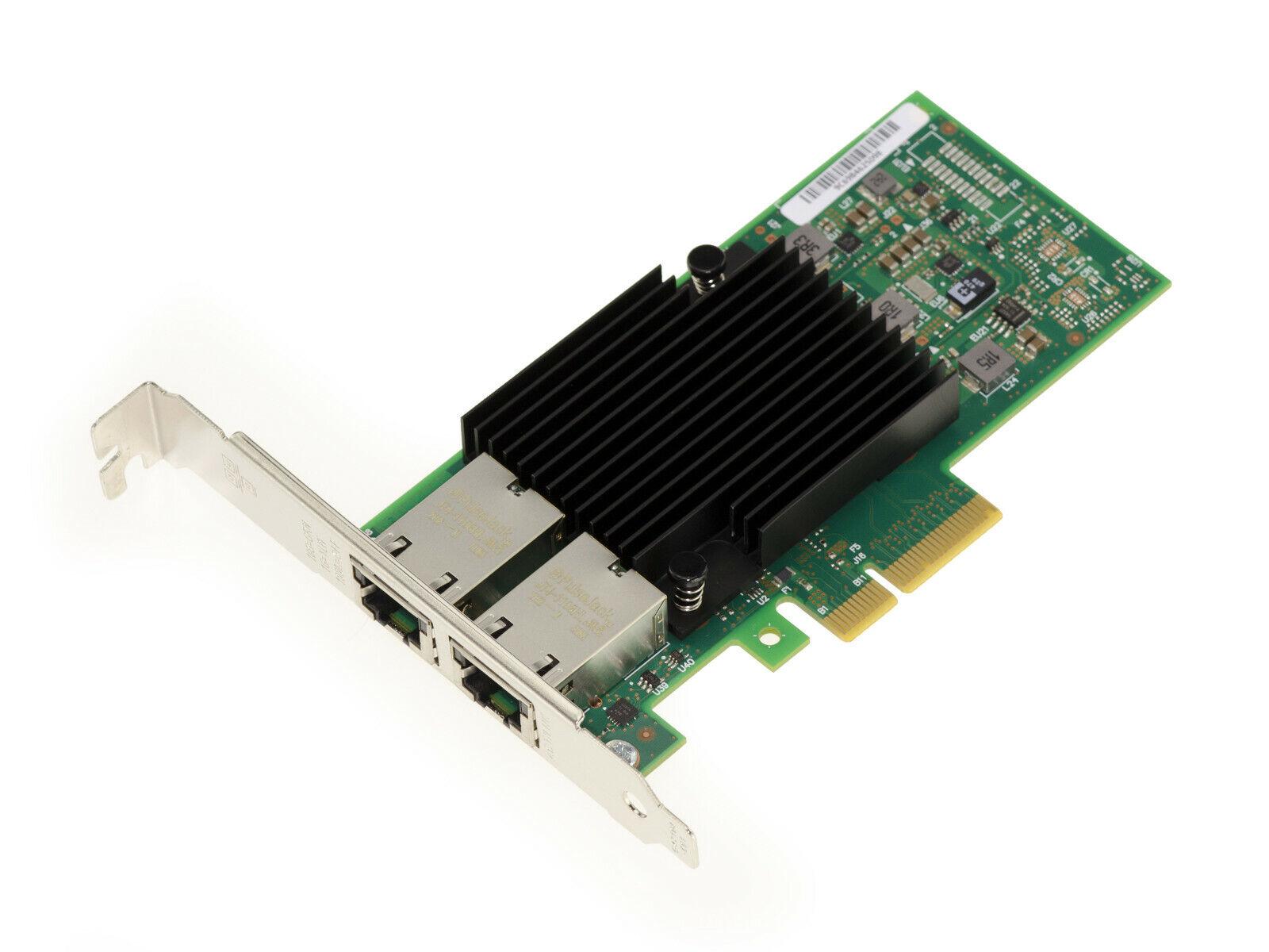 Card Pcie 3.0 4x 1G 2.5G 10G RJ45 Lan Gigabit Ethernet Chipset Intel X550AT2