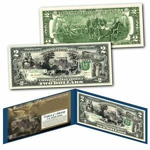 CONFEDERATE-RAILROADS-Banknote-of-The-American-Civil-War-on-Genuine-New-2-Bill