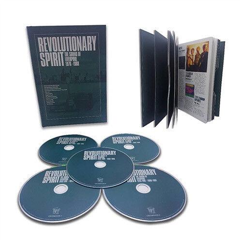 Revolutionary Spirit: Sound Of Liverpool 1976-1988 / Various [New CD] Boxed Se