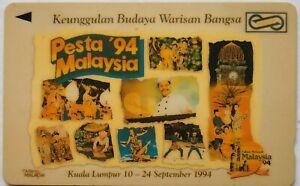 Malaysia-Used-Phone-Cards-Pesta-039-94-Malaysia