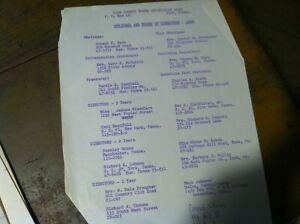VINTAGE-HISTORICAL-DOCUMENT-YOUNG-REPUBLICANS-1960-OFFICER-LIST-20-298