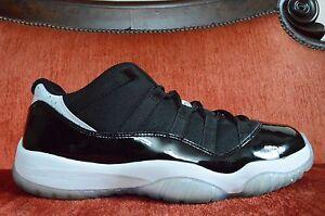 Nike-Air-Jordan-XI-11-Retro-Low-Infrared-23-Black-Pure-Platinum-Size-11-9-10