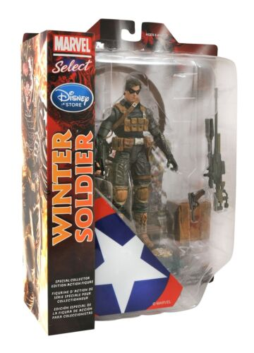 Marvel Select Winter Soldier Special Collection Edition Civil War Action Figure