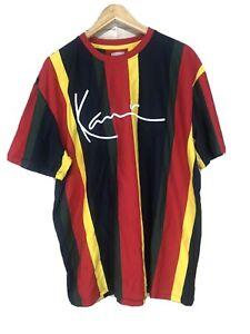 Men-s-NEW-Kami-European-Color-Block-Crew-Neck-Premium-Tee-Shirt-Small-S-N44