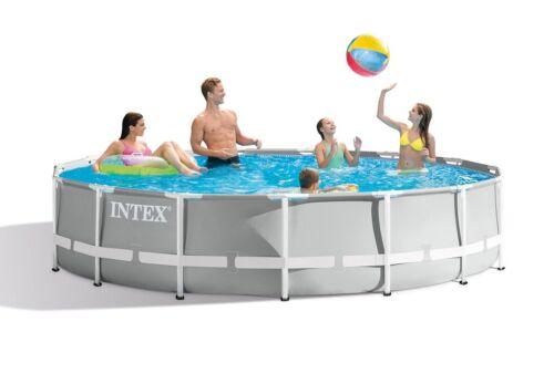 Poolfolie Prism runder Aufstellpool 457x Swimmingpool Familienpool 26724 B-Ware
