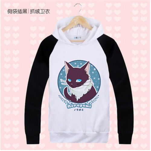 Noragami Yukine Yato Hiyori Iki Cosplay Costume Cute Hoodie T-shirt