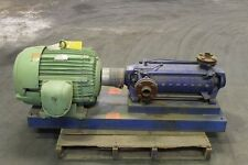 KSB RING SECTION Multi Stage Pump 128 GPM, US Motors 60 HP