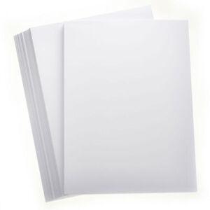 50-Hojas-Nieve-Blanco-A4-Suave-Tarjeta-160gsm-Craft-Hobby-Impresora