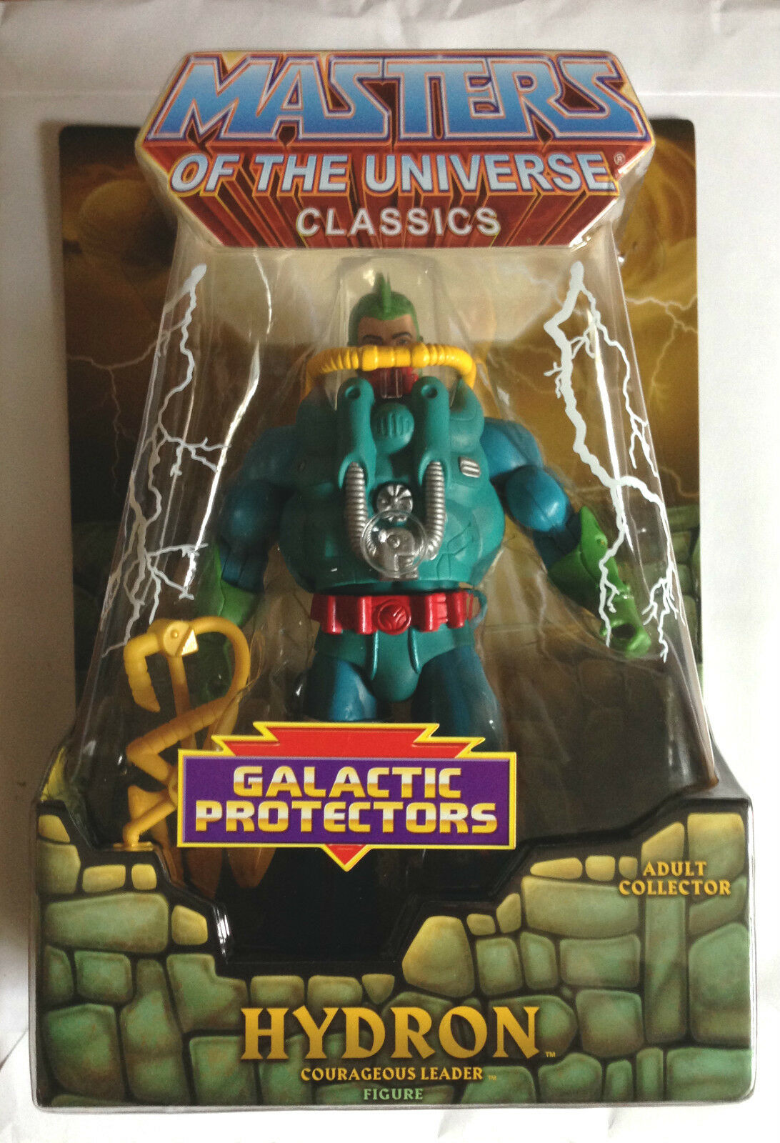 HYDRON HE-MAN MASTERS OF THE UNIVERSE MOTU SOLD OUT RARE CLUB EXCLUSIVE FIGURE