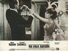 CLAUDIA CARDINALE  ROCK HUDSON BLINDFOLD 1965 VINTAGE LOBBY CARD ORIGINAL #2