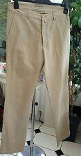Gant Chino Trousers Tan Beige Men's W32 L34 VGC Cotton/ Linen 150705