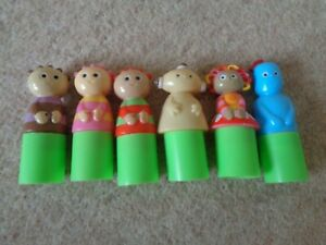 In-The-Night-Garden-Tombliboo-upsy-daisy-makka-pakka-iggle-Finger-Puppets-Rare
