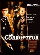 Affiche 40x60cm LE CORRUPTEUR (THE CORRUPTOR) 1999 Yun-Fat, Wahlberg TBE