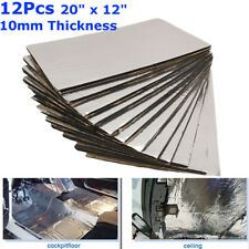 Glass Fibre Sound Proofing Deadening Insulation Closed Cell Foam 50*30cm 12X10mm