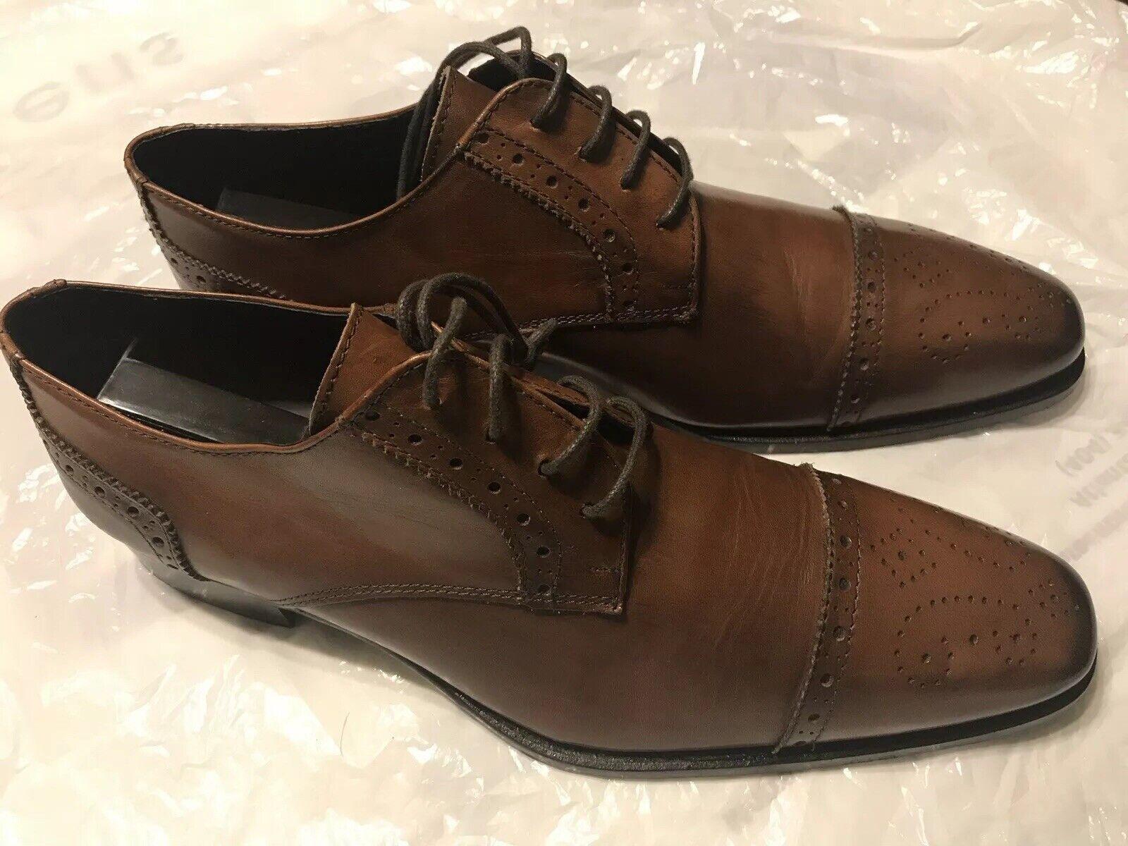 negozio a basso costo Men Men Men Marrone Italian Di franco scarpe Dimensione 10  alla moda