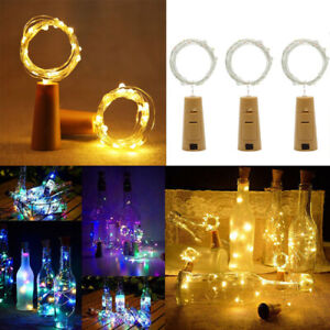 2M-20-LED-Fairy-String-Lights-Bottle-Battery-Cork-Shaped-Xmas-Wedding-Party-US