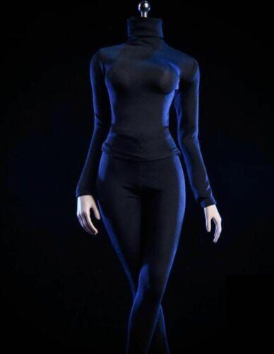 "1//12 Female Turtleneck Stretch Slim Top Pants Set For 6/"" TBL PHMB2018 T01 Figure"