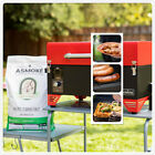 ASMOKE Pellet Grill Smoker BBQ 256 sq. in. Patio Grilling w/ Digital LED Control