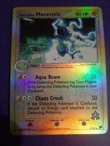 Team Magma/'s Camerupt 19//95 Vs Aqua Reverse Holo English Pokemon Played
