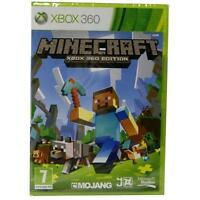 MINECRAFT XBOX 360 BRAND NEW VIDEO GAME SEALED OFFICIAL X360 SEALED