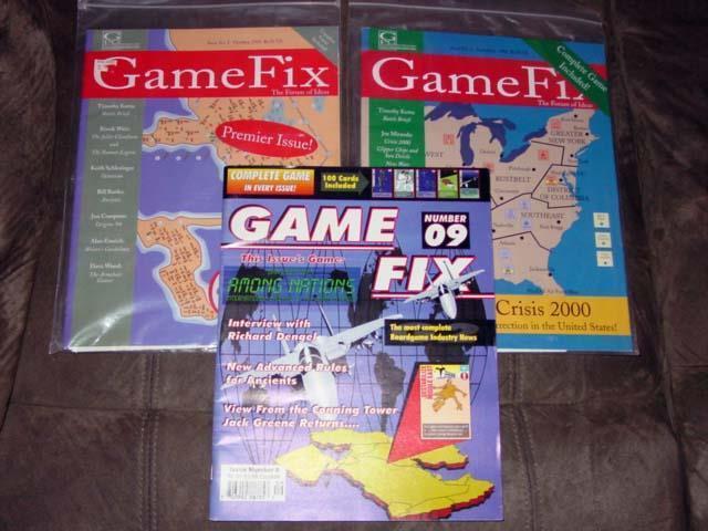 (3) GAME FIX Magazines (UNP) - No. Games in One