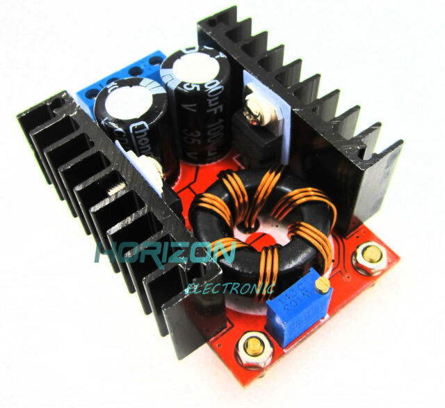 2PCS 150W DC-DC Boost Converter 10-32V to 12-35V 6A Step Up Power Supply Module