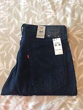 New LEVI'S 511 Slim COMMUTER Stretch 3M Jeans Size 36 x 36 Retail $75