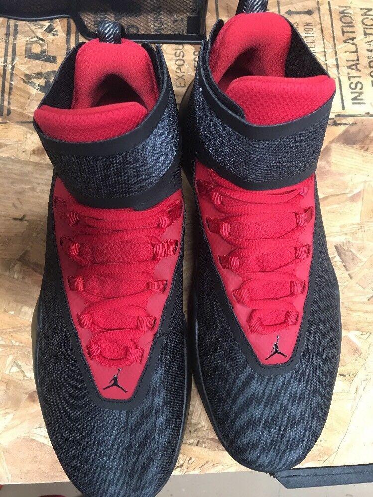 New Nike Men's Jordan Fly Unlimited nero  rosso Dimensione 9.5 AA1282 -011