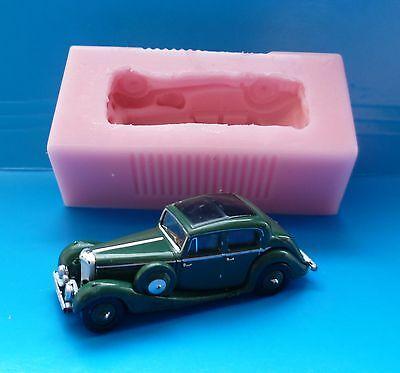 Vintage Car Silicone Fondant Shape Mold Cake Decorating Chocolate Clay Baking SJ