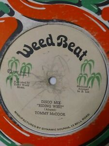 Tommy-McCook-Riding-West-12-034-Vinyl-Single-1977-ROOTS-REGGAE-DUB