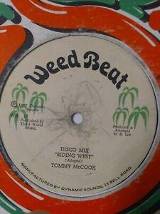 Tommy-McCook-Riding-West-12-034-Vinyl-Single-1977-ROOTS-REGGAE-DUB
