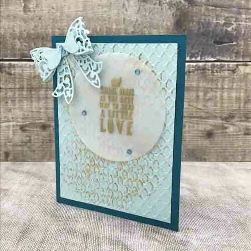 Card Making Magic Die Set Bow Set of 12 by Christina Griffiths