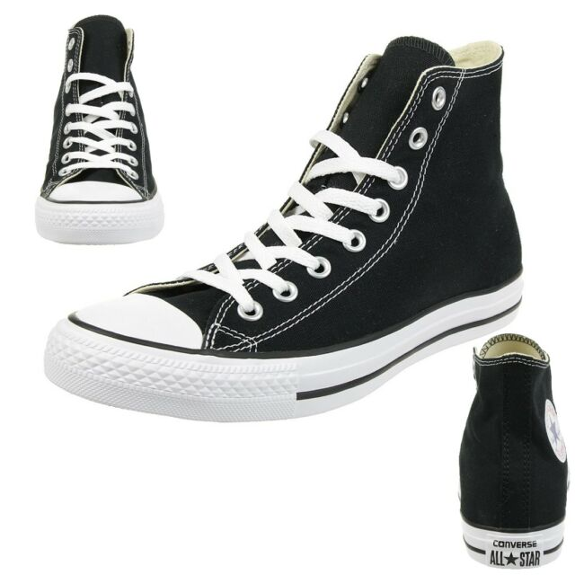 online store 08873 66237 Converse C Taylor All Star Hi Mandrin Chaussures Baskets Canvas Black M9160c