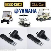 Universal Golf Cart Seat Belts / Retractable Seat Belt (2) Seat Belts
