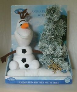 Olaf Christmas Trees.Details About Disney Frozen Olaf Animated Softies Christmas Tree Sings Dances New Batteries