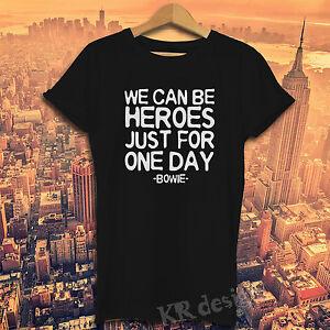DAVID-BOWIE-T-shirt-BLACKSTAR-WE-KANN-HELDEN-LOVE-STAR-Oberteil-T-Shirt
