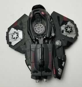 Star Wars Darth Vader's Sith Starfightet Hasbro Incomplete
