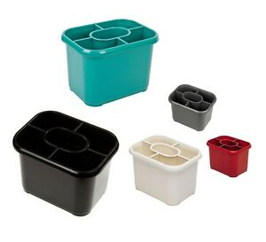 Image Is Loading Addis Cutlery Drainer Washing Up Plastic Caddy Sink