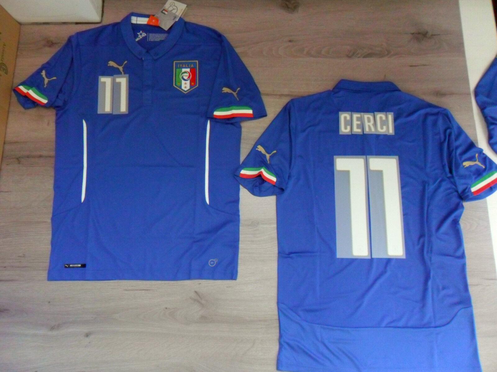 FW14 PUMA S S S NACH HAUSE ITALIEN 11 CASEY T-SHIRT WELT TRIKOT JERSEY d94dc4