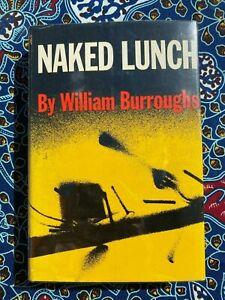 NAKED LUNCH by WILLIAM BURROUGHS 1959 *1ST PRINTING* HC w