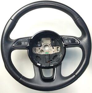 Audi-Q3-8U-Volante-Multifunzione-Volante-IN-Pelle-Sterzo-Wheel-Pelle-8U0419091G