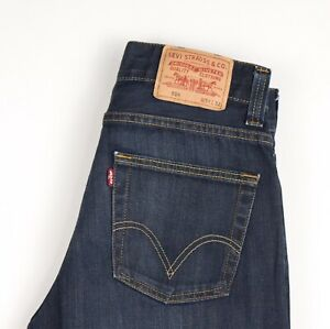 Levi-039-s-Strauss-amp-Co-Hommes-506-Slim-Jeans-Jambe-Droite-Taille-W31-L32-AVZ602