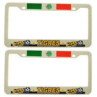 tigres Mexico Soccer Plastic License Plate Frame 2 Piece