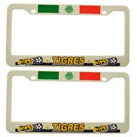 tigres Mexico Soccer Plastic License Plate Frame 2 Piece
