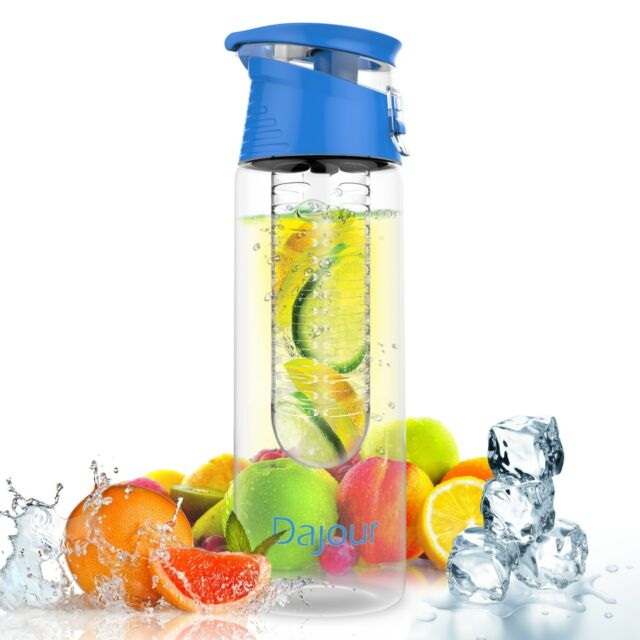 Infuser Water Bottle Detox Cleanse Health Vitamin Water Fruit Infused BPA Free