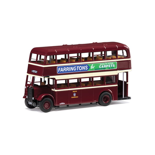 GUY ARAB II UTILITY BUS 6 ANGLESEY Rd VIA STATION & UXBRIDGE St. 1:76 Corgi